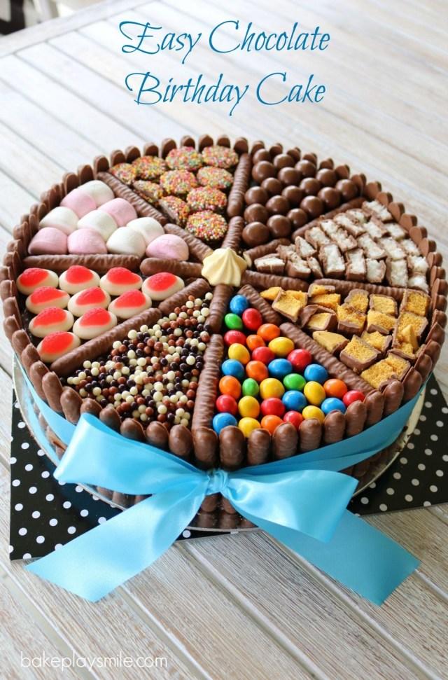 Easy Birthday Cake Ideas Easy Chocolate Birthday Cake Recipe C A K E D E S I G N S