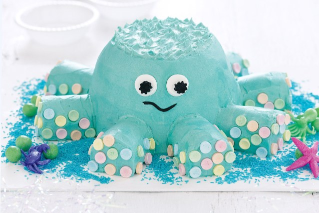 Easy Birthday Cake Recipe Ollie The Octopus Cake