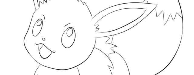 Eevee Coloring Pages Eevee Coloring Page Free Printable Coloring Pages