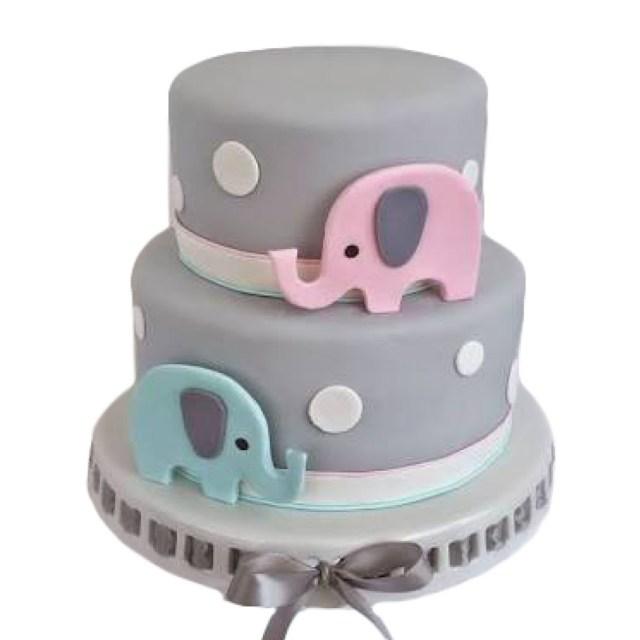 Elephant Birthday Cakes Elephant Birthday Cake