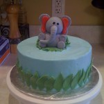 Elephant Birthday Cakes Elephant Safari Birthday Cake Beth Anns