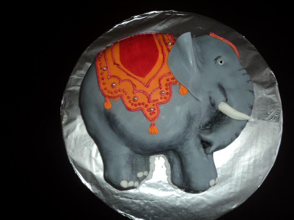 Elephant Birthday Cakes Indian Elephant Birthday Cake Cakecentral