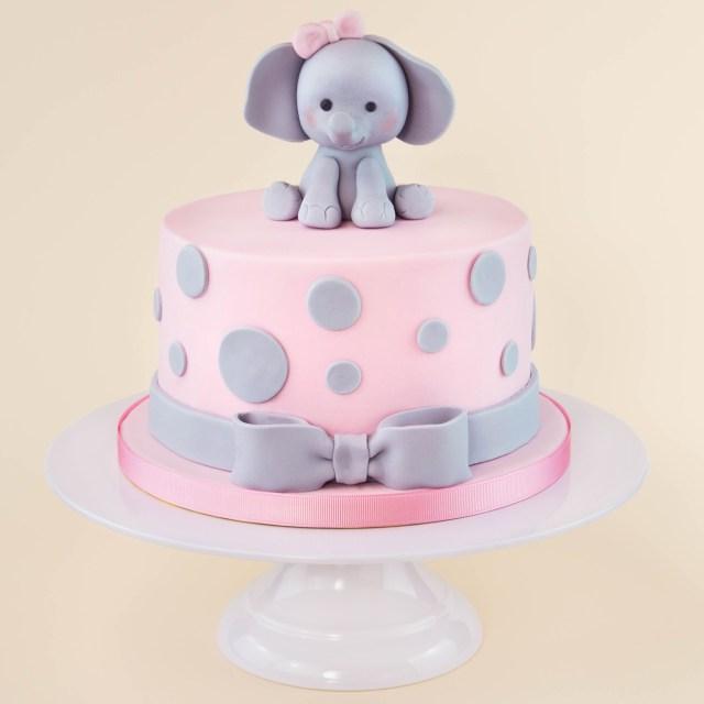 Elephant Birthday Cakes Pink Elephant Cake Party Ideas Pinterest Cake Elephant Cakes