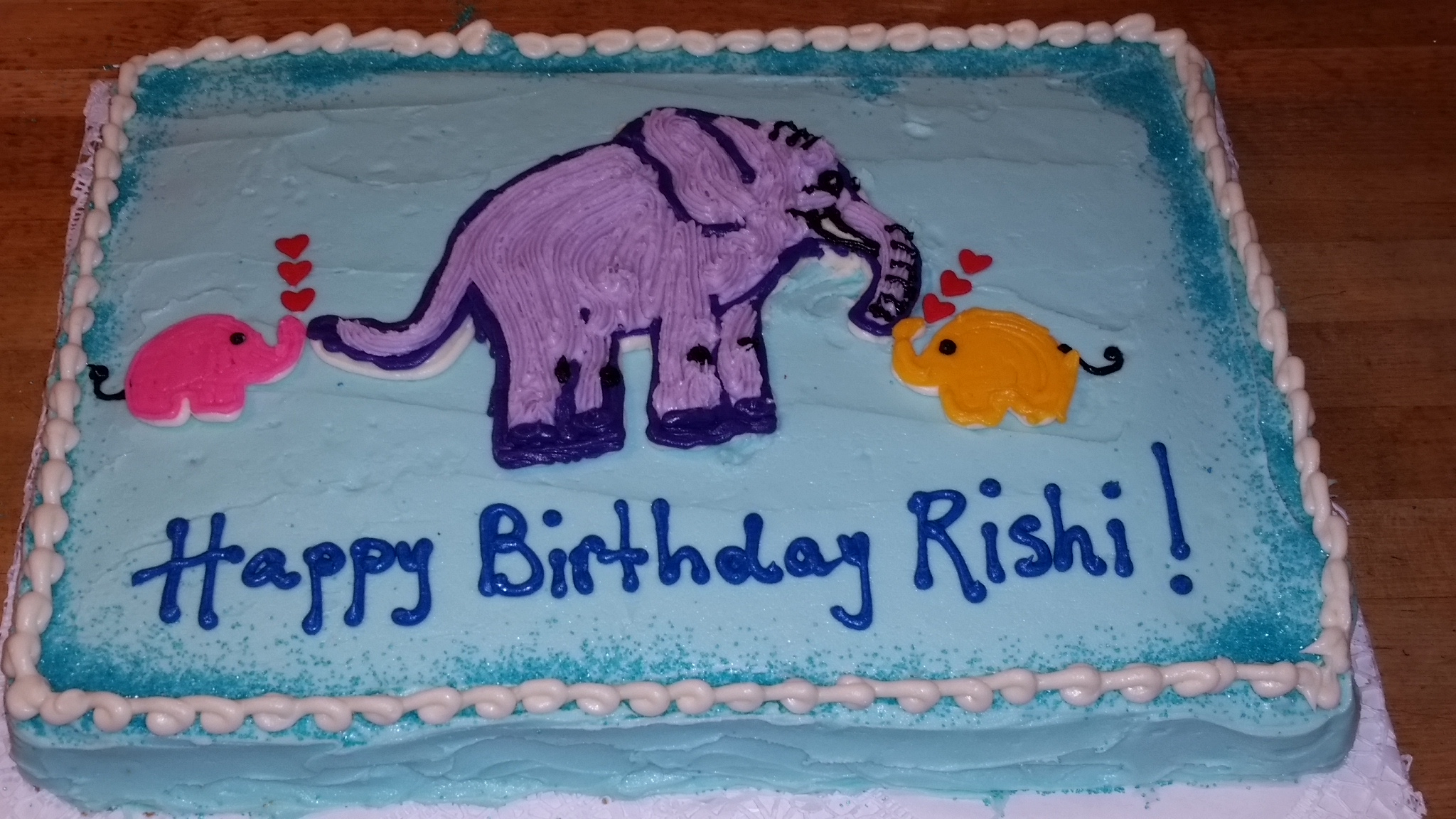 Elephant Birthday Cakes Sugarsweetsunshine Elephant Birthday Cake
