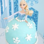 Elsa Birthday Cakes How To Make An Elsa Doll Birthday Cake Party Ideas Party