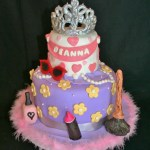 Fancy Birthday Cake Fancy Nancy Birthday Cake Cakecentral