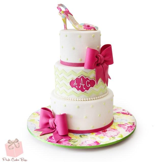 Fashion Birthday Cake Fashion Inspired Cakes