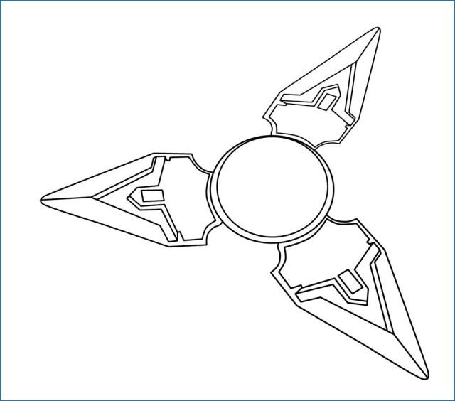 Fidget Spinner Coloring Page Fidget Spinner Coloring Page Awesome Spin Ball Finger Stock S Spin