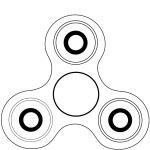 Fidget Spinner Coloring Page Fidget Spinner Coloring Page Free Printable Coloring Pages