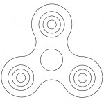 Fidget Spinner Coloring Page Fidget Spinner Coloring Pages At Getdrawings Free For Personal