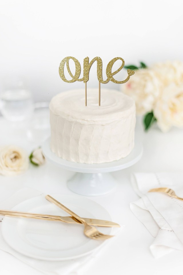First Birthday Cake Topper First Birthday Cake Topper Birthday Cake Topper One Cake Topper
