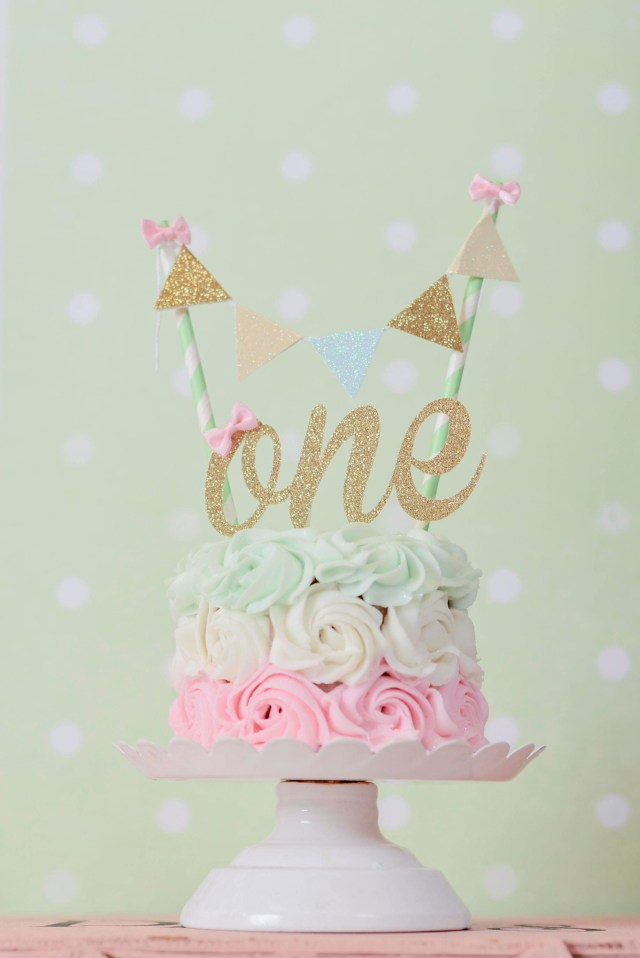 First Birthday Cake Topper One Cake Topper First Birthday Cake Topper One Smash Cake Set
