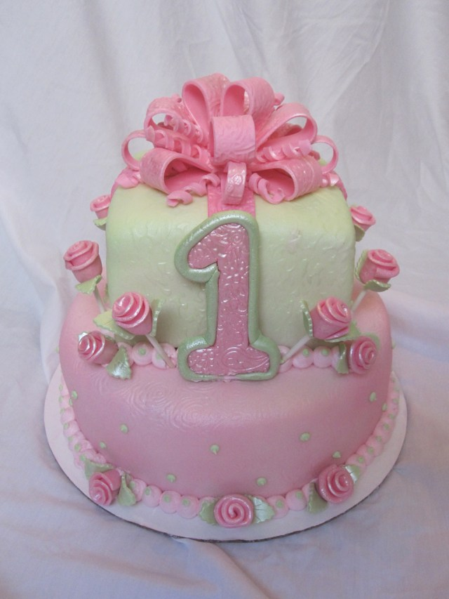 First Birthday Cakes For Girls 1st First Birthday Cake Girl 1st First Birthday Cake Girl Flickr