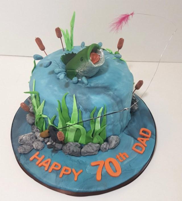 Fishing Birthday Cakes Download Fishing Birthday Cakes Adults Abc Birthday Cakes