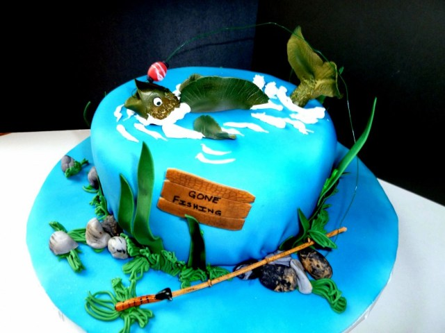 Fishing Birthday Cakes Fishing Birthday Cake Ideas S Themed Best Cakes