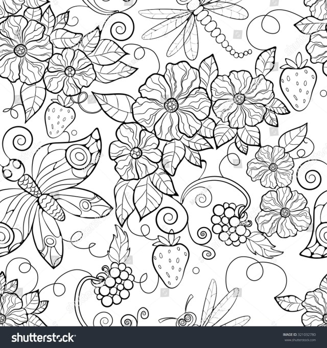 Flower Adult Coloring Pages Adult Coloring Pages Flowers Flower Printable 10001031 Attachment
