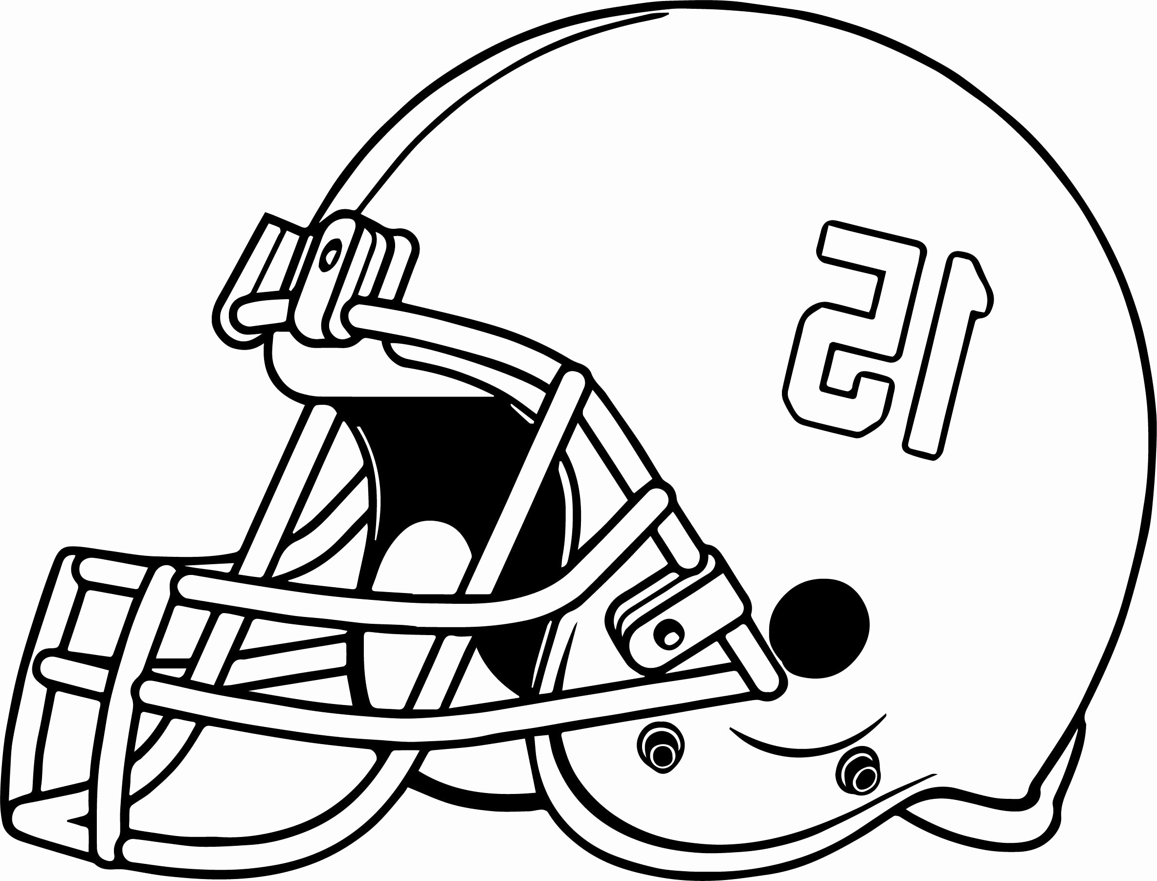 Football Helmet Coloring Page Football Helmets Coloring Pages Xflt ...