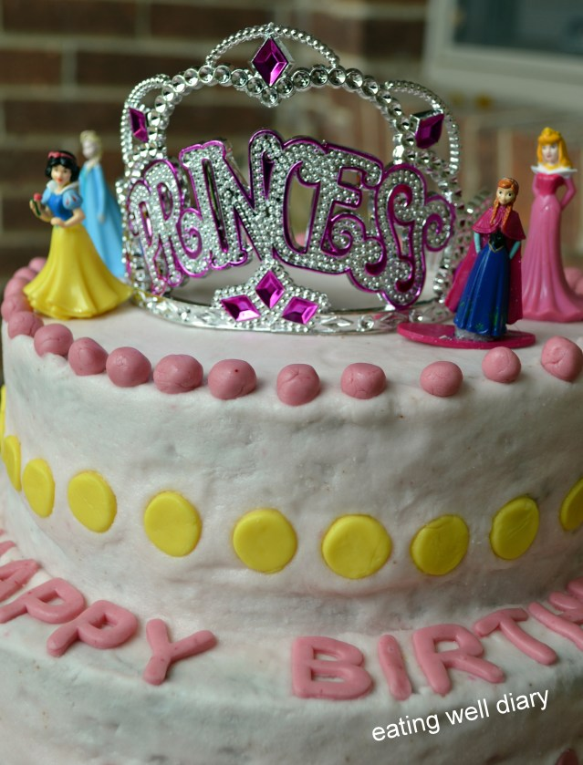 Free Birthday Cake Made With Love A Princess Birthday Cake Whole Wheat Egg Free