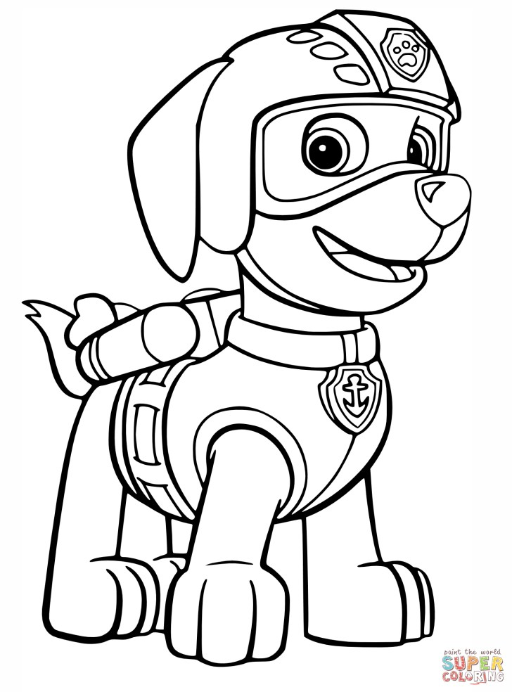25+ Creative Picture of Free Paw Patrol Coloring Pages