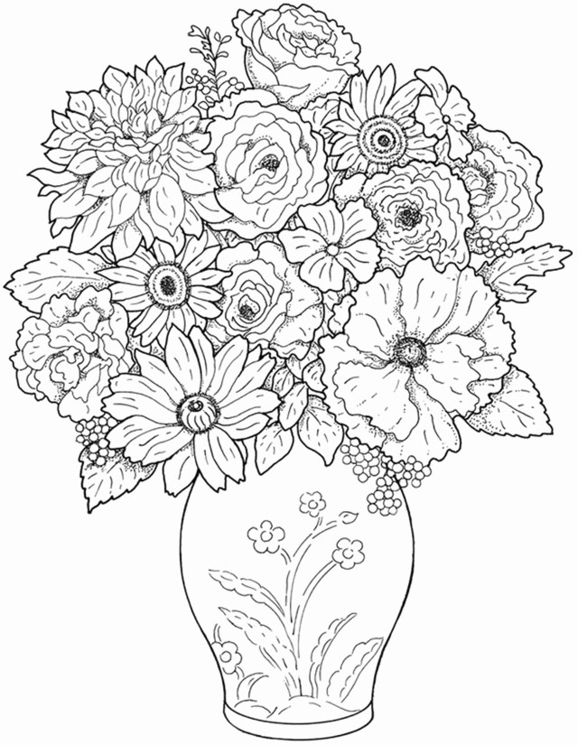 Free Printable Flower Coloring Pages Coloring Pictures Of Flowers Astonishing Free Printable Flower