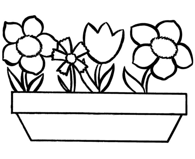 Free Printable Flower Coloring Pages Free Printable Flowers Coloring Pages New Flower Color Valid Unique