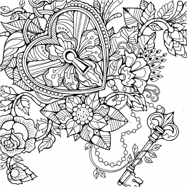 Free Printable Flower Coloring Pages Geometric Flower Coloring Pages Awesome Coloring Sheets Dover