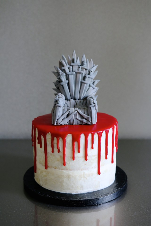 Game Of Thrones Birthday Cake Game Of Thrones Drip Cake Archives Afternoon Crumbs