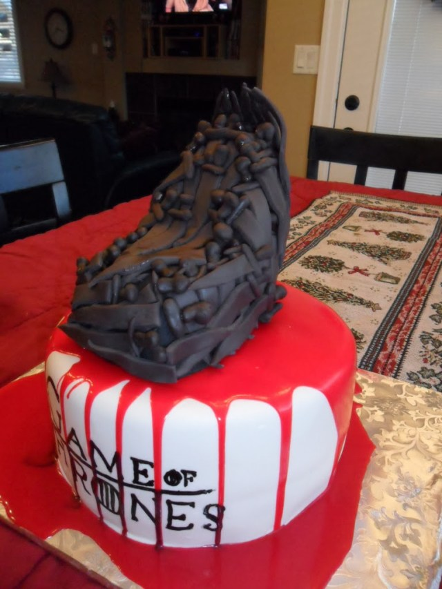 Game Of Thrones Birthday Cake Larry The Cake Guy Game Of Thrones Birthday