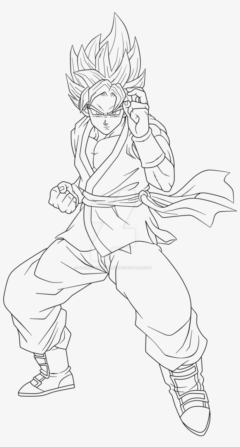 Goku Coloring Pages Ssgss Goku Coloring Pages 3 Jon ...