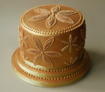 Gold Birthday Cake Gold Birthday Cakes