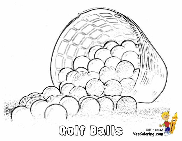 Golf Coloring Pages 31 Golf Coloring Pages Golf Coloring Page Tracing Twisty Noodle