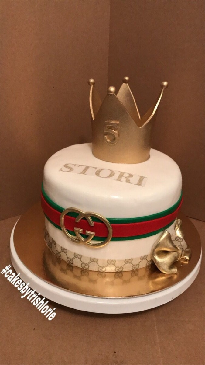 Gucci Birthday Cake Gucci Theme Birthday Cake All Edible Cakes Trish Lorie Cake