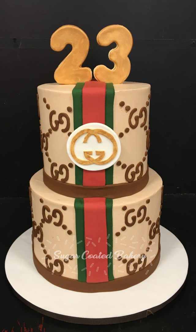 Gucci Birthday Cake Sugar Coated Bakery Lowell Baking Everyday Better