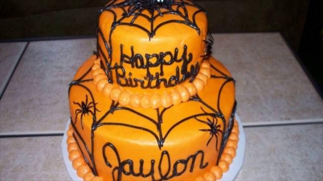 Halloween Birthday Cake Ideas Halloween Birthday Cakes Youtube