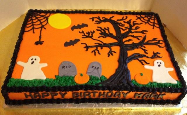 Halloween Birthday Cake Ideas Halloween Birthday Sheet Cake Halloween Queen Pinterest