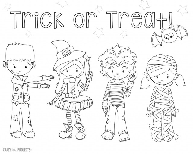 Halloween Coloring Pages Printable Free Halloween Coloring Pages For Adults Kids Happiness Is Homemade