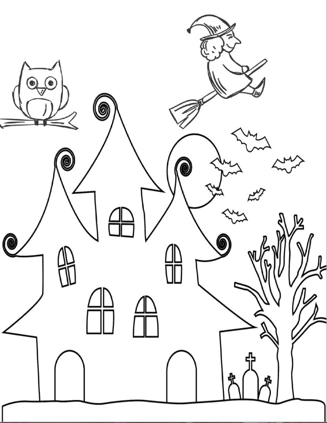 Halloween Coloring Pages Printable Halloween Coloring Pages Printable Color For Kids Book Free Bats