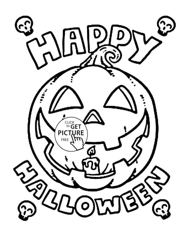 Halloween Coloring Pages Printable Toddler Halloween Coloring Pages Printable Save Happy Pumpkin For