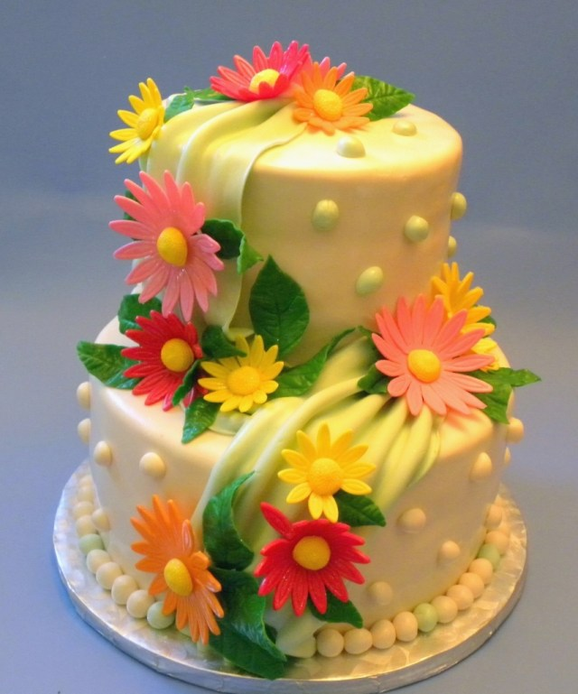 Happy Birthday Cake And Flowers Images 191018 Jenvs Birthday Today Bcna Online Network