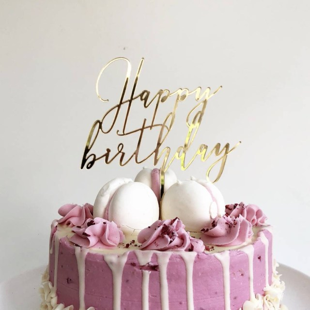 Happy Birthday Cake Pictures Happy Birthday Cake Topper Heres To Us Notonthehighstreet