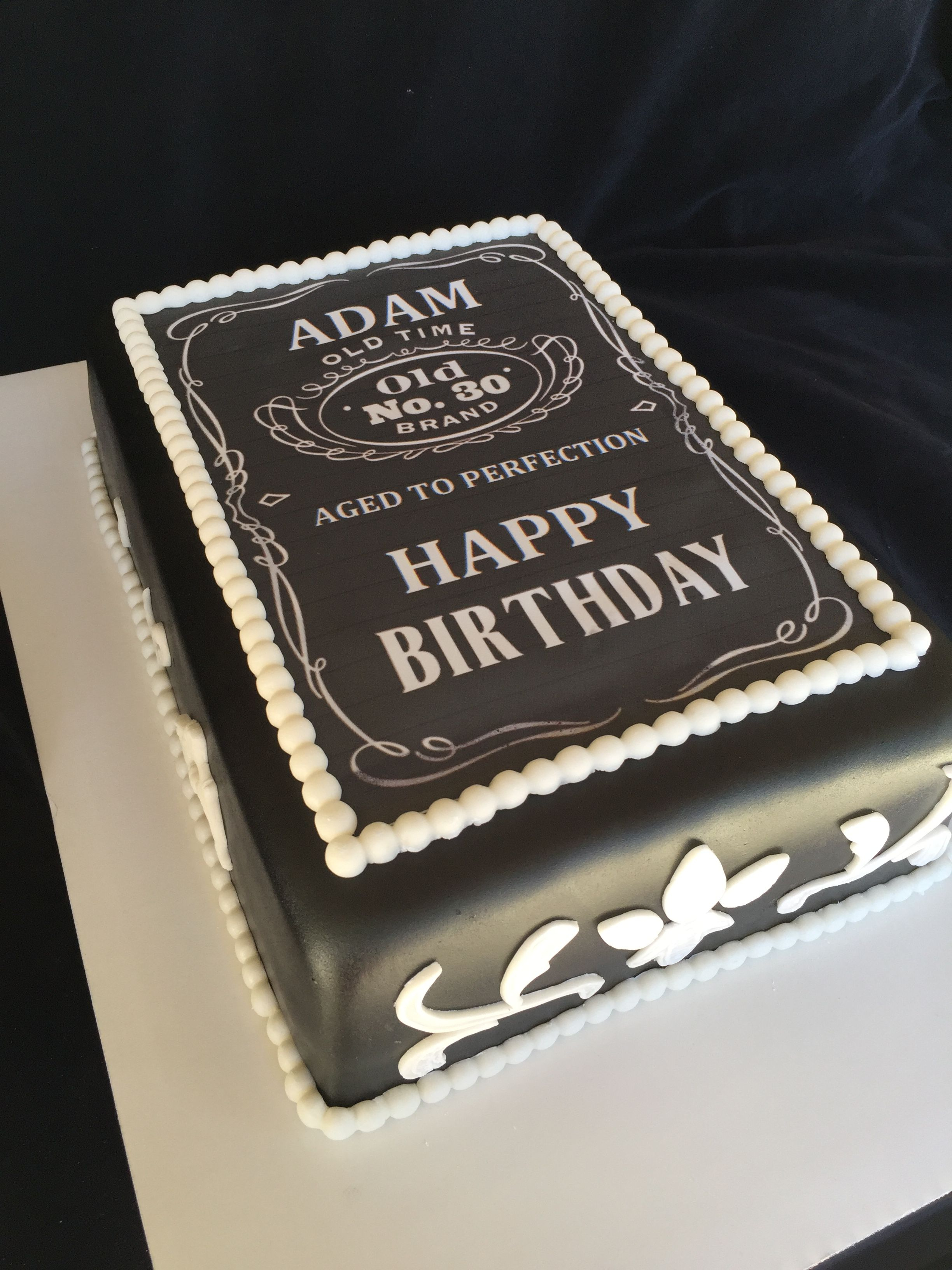 Happy Birthday Cakes For Him Jack Daniels Inspired Cake Delicious Recipes Pinte