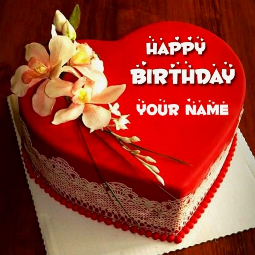 Happy Birthday Cakes With Name Beautiful Happy Birthday Cake Name