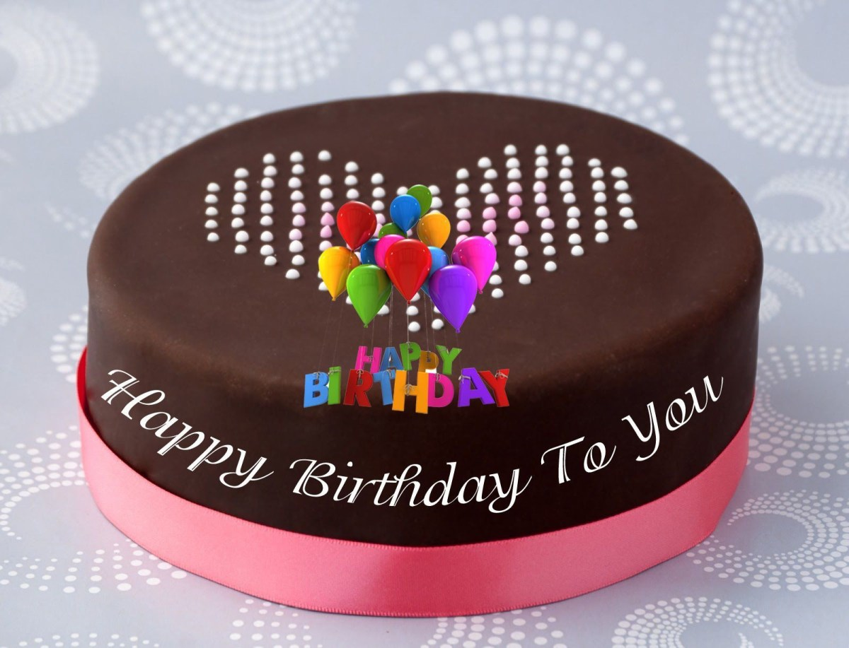 Happy Birthday Cakes With Name Cake Images And Photo Editor Free Download