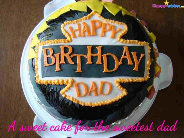Happy Birthday Dad Cake Daddy Star Jpgrhsugarlovedesignblogspotcom Papa Images