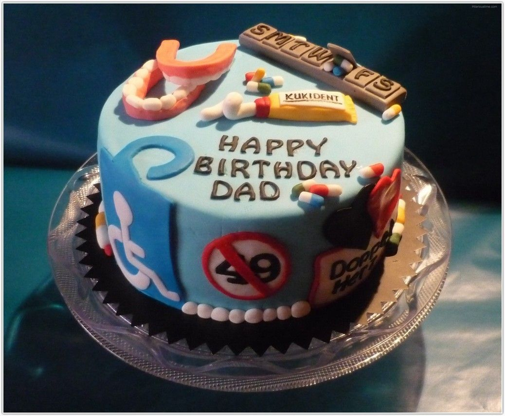 Happy Birthday Dad Cake Funny Ideas For Men Brians 60th