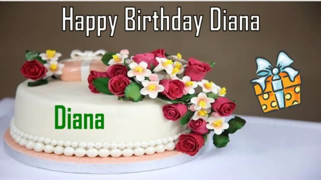 Happy Birthday Diana Cake Happy Birthday Diana Image Wishes Youtube