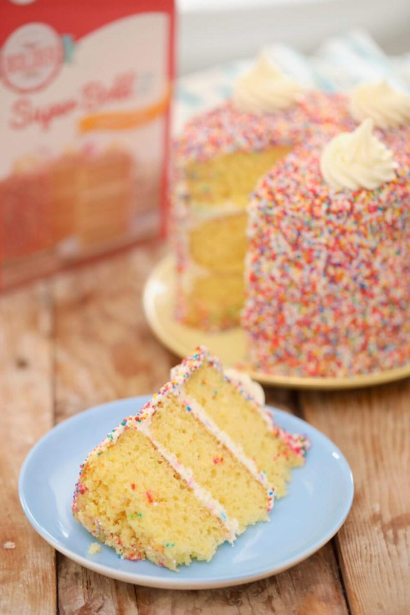 Homemade Birthday Cake Recipes Dry Cake Mix Gemmas Bigger Bolder Baking
