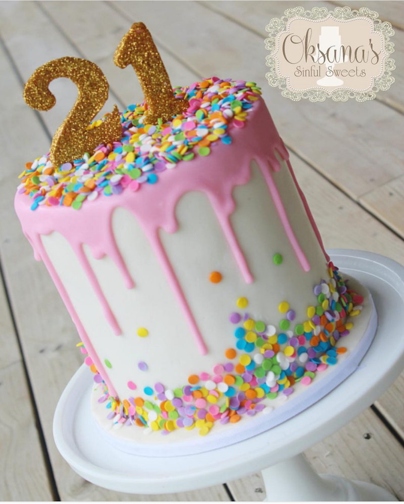 How To Make Birthday Cake How To Make A Drip Cake Plus 50 Amazing Drip Cake Ideas To Inspire