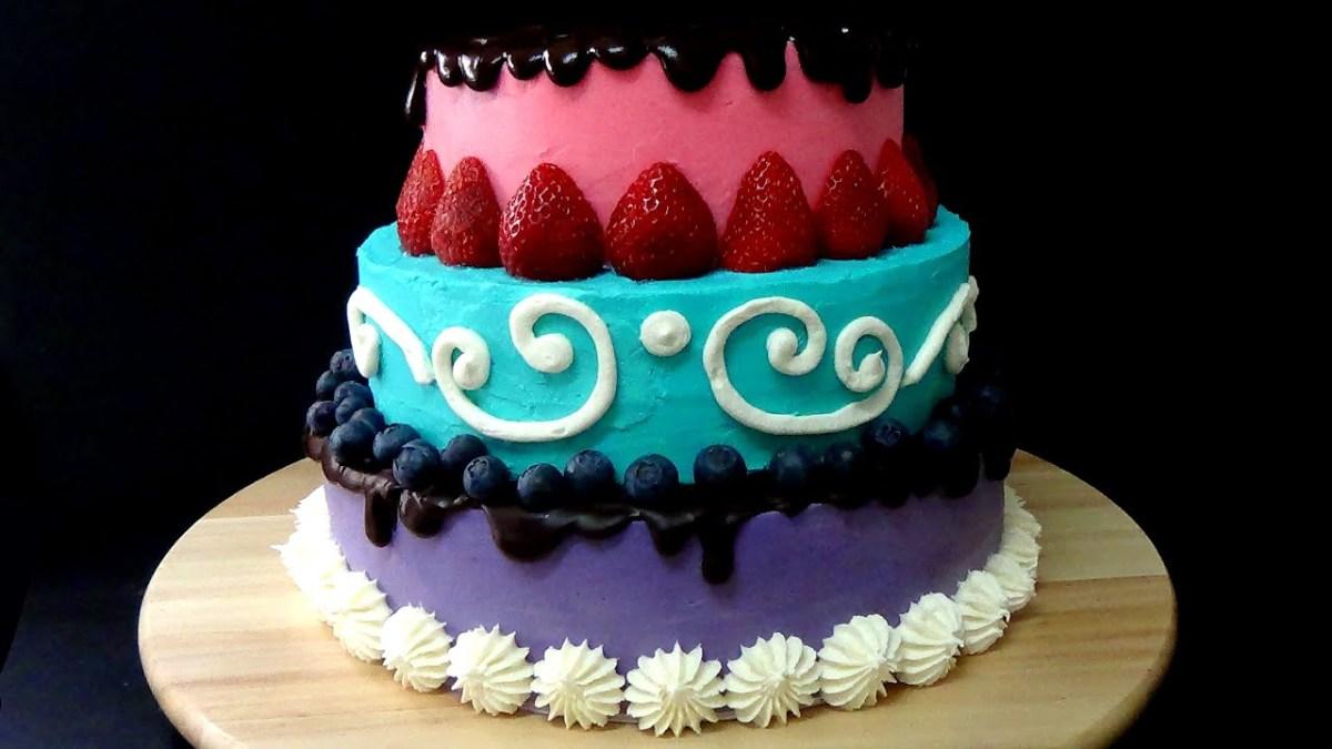How To Make Birthday Cake How To Make Birthday Cake Youtube