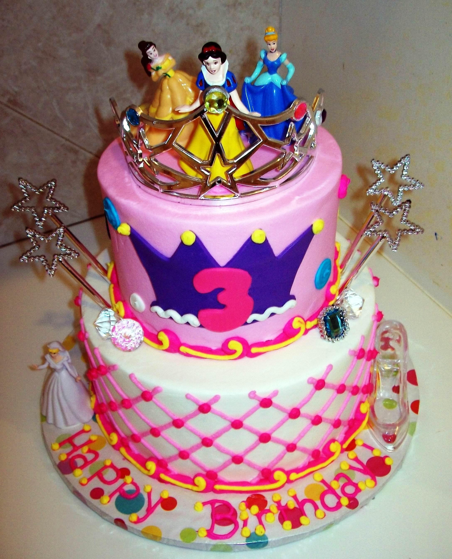 How To Make Birthday Cake Disney Princess Cakes